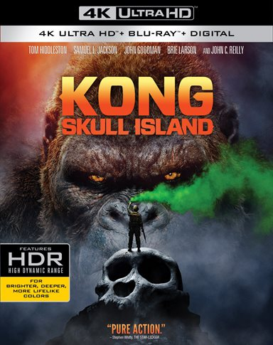 Kong: Skull Island 4K Ultra HD Review