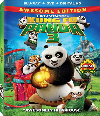 Kung Fu Panda 3 Blu-ray Review