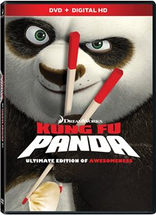 Kung Fu Panda 1 / Kung Fu Panda 2 Ultimate Edition of Awesomeness DVD Review