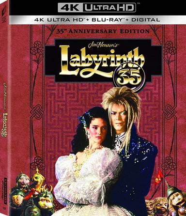 Labyrinth 35th Anniversary Edition 4K Ultra HD Review
