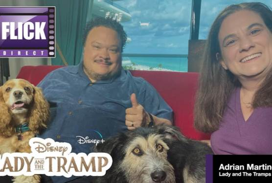 Adrian Martinez Talks About Disney+ ''s Lady and the Tramp