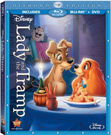 Lady and The Tramp Blu-ray Review