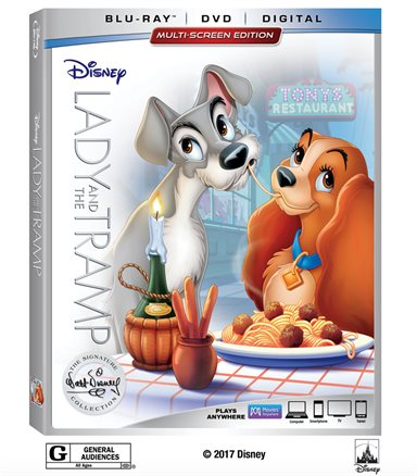 Lady And The Tramp Signature Collection Blu-ray Review