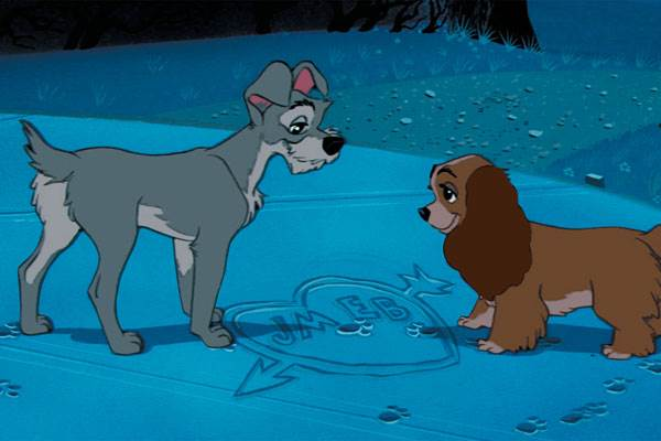 Lady and The Tramp © Walt Disney Pictures. All Rights Reserved.