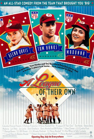 A League of Their Own © Columbia Pictures. All Rights Reserved.