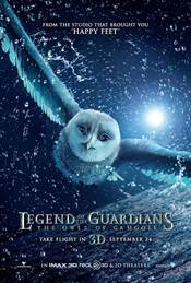 Legend of the Guardians: The Owls of Ga'Hoole Theatrical Review