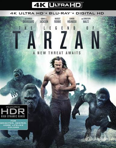 The Legend of Tarzan 4K Ultra HD Review