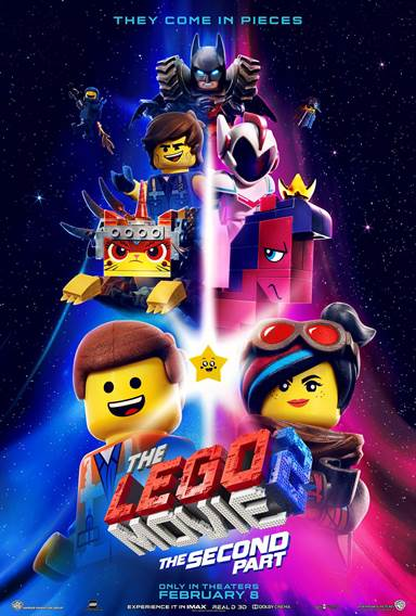 The Lego Movie 2: The Second Part © Warner Bros.. All Rights Reserved.