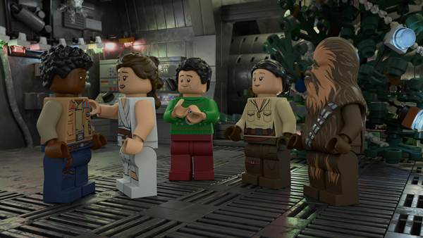 LEGO Star Wars Holiday Special © Walt Disney Pictures. All Rights Reserved.