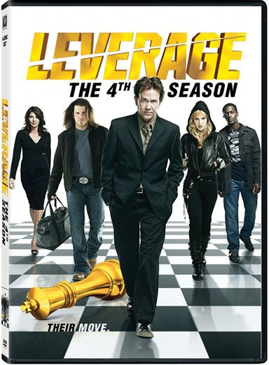 Leverage Season Four DVD Review