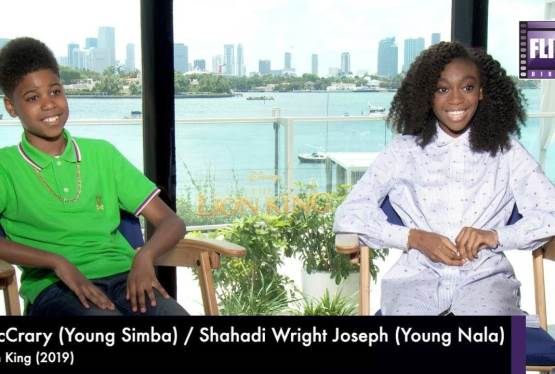 Lion King's JD McCrary and Shahadi Wright Joseph Speak to FlickDirect