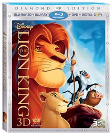 The Lion King 3D Blu-ray Review