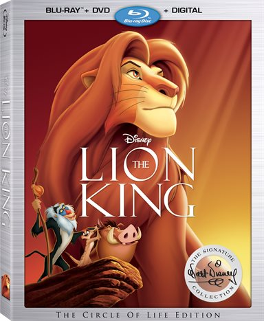 Lion King: Walt Disney Signature Collection Blu-ray Review