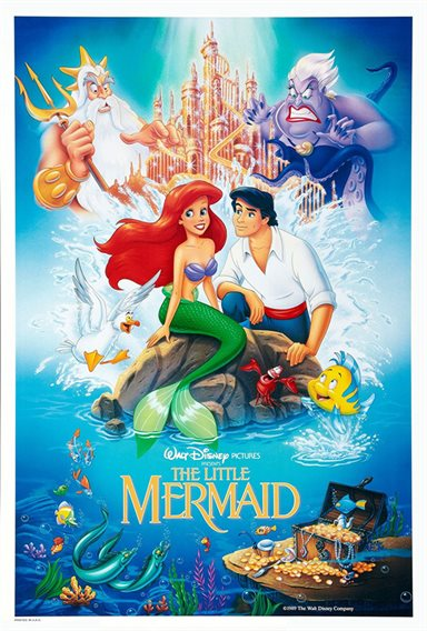 The Little Mermaid © Walt Disney Pictures. All Rights Reserved.