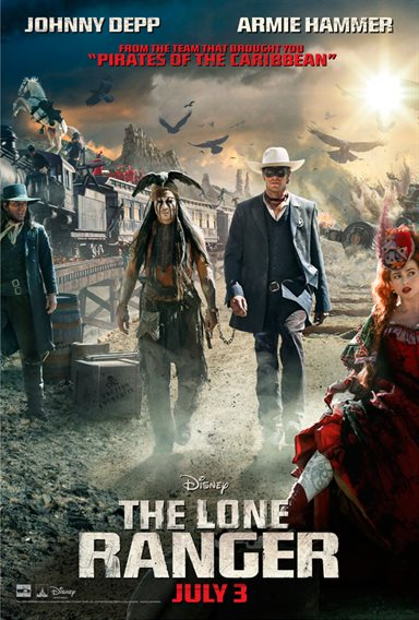The Lone Ranger © Walt Disney Pictures. All Rights Reserved.