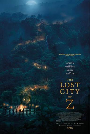 The Lost City of Z © Amazon Studios. All Rights Reserved.