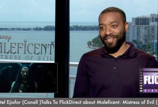 Chiwetel Ejiofor Talks Maleficent: Mistress of Evil With FlickDirect