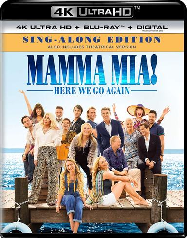 Mamma Mia! Here We Go Again 4K Ultra HD Review