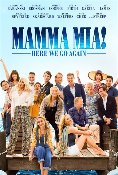 Mamma Mia! Here We Go Again © Universal Pictures. All Rights Reserved.
