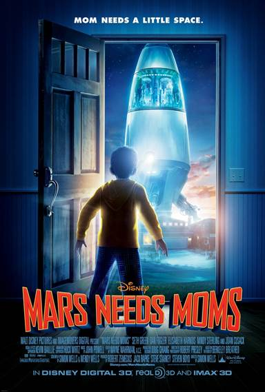 Mars Needs Moms © Walt Disney Pictures. All Rights Reserved.