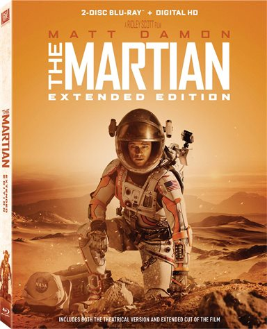 The Martian: Extended Edition Blu-ray Review