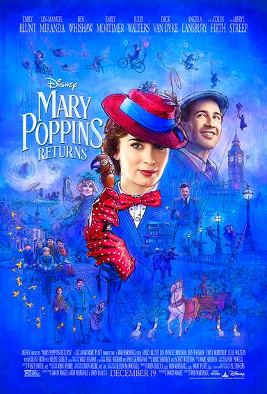Mary Poppins Returns © Walt Disney Pictures. All Rights Reserved.