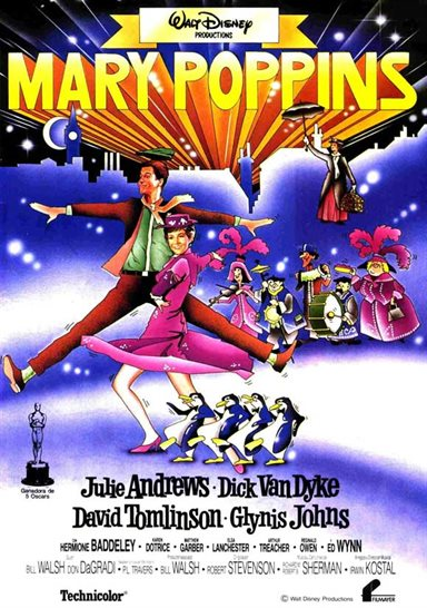 Mary Poppins © Walt Disney Pictures. All Rights Reserved.