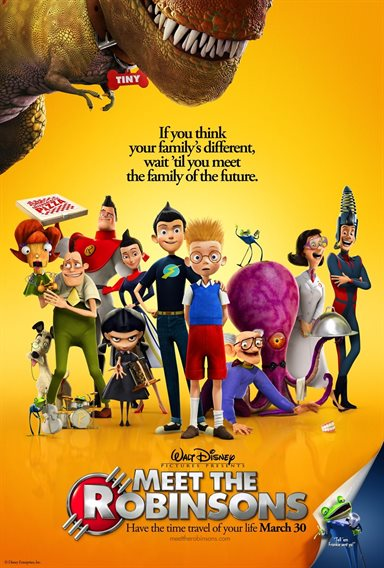 Meet The Robinsons © Walt Disney Pictures. All Rights Reserved.