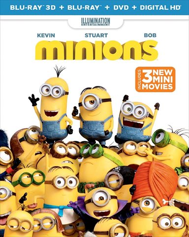 The Minions Blu-ray Review