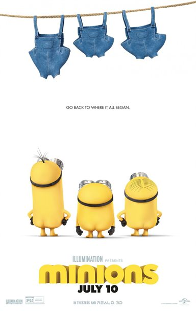 The Minions © Universal Pictures. All Rights Reserved.