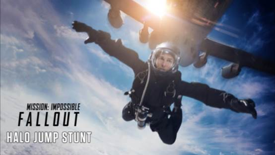 HALO Jump Stunt Behind The Scenes