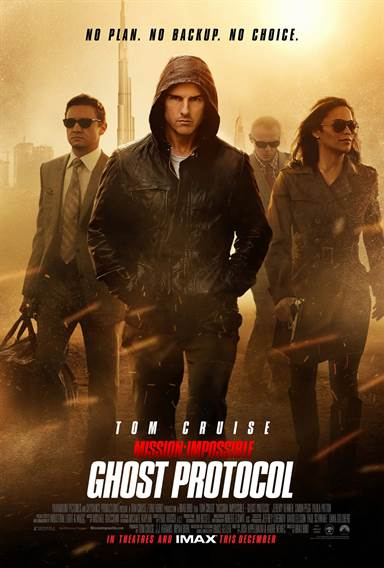 Mission: Impossible Ghost Protocol Theatrical Review