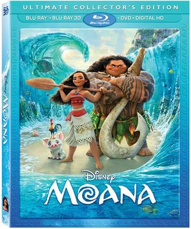 Moana Blu-ray Review