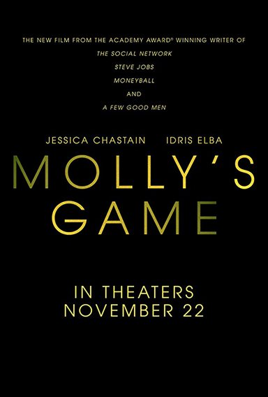 Molly's Game © STX Entertainment. All Rights Reserved.