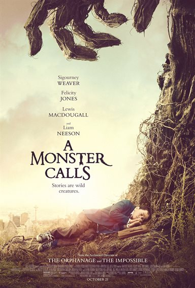 A Monster Calls © Focus Features. All Rights Reserved.
