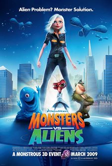 Monsters vs. Aliens Theatrical Review