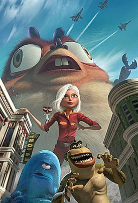 Monsters vs. Aliens © Paramount Pictures. All Rights Reserved.
