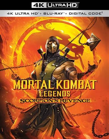 Mortal Kombat Legends: Scorpion's Revenge 4K Ultra HD Review