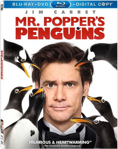 Mr. Popper's Penguins Blu-ray Review