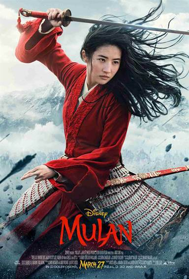 Mulan © Walt Disney Pictures. All Rights Reserved.