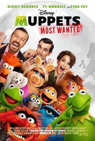 Muppets Most Wanted © Walt Disney Pictures. All Rights Reserved.