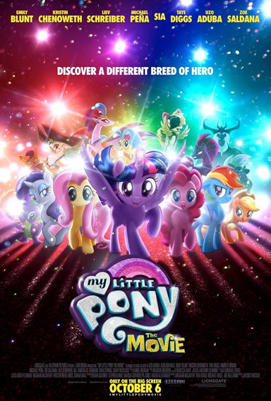 My Little Pony: The Movie © Lionsgate. All Rights Reserved.