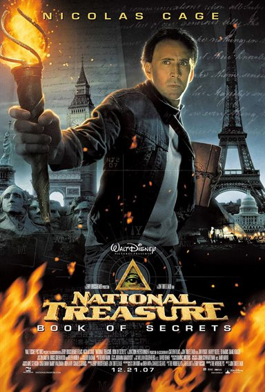 National Treasure: Book of Secrets © Walt Disney Pictures. All Rights Reserved.