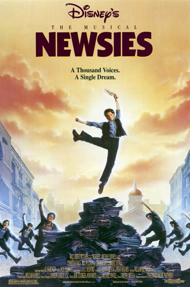 Newsies © Walt Disney Pictures. All Rights Reserved.