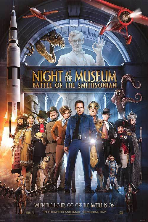 Night At The Museum: Battle For The Smithsonian