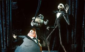 Tim Burton's The Nightmare Before Christmas © Touchstone Pictures. All Rights Reserved.