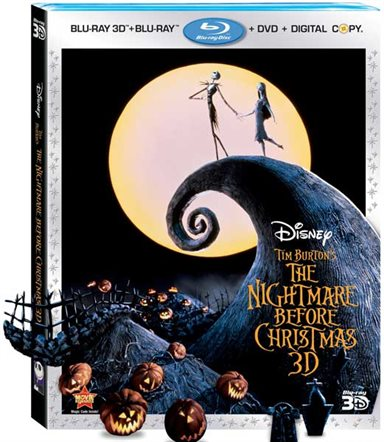 The Nightmare Before Christmas (Three-Disc Combo: Blu-ray 3D / Blu-ray / DVD / Digital Copy) Blu-ray Review