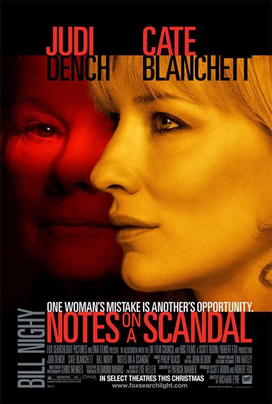 Notes on A Scandal © Fox Searchlight Pictures. All Rights Reserved.