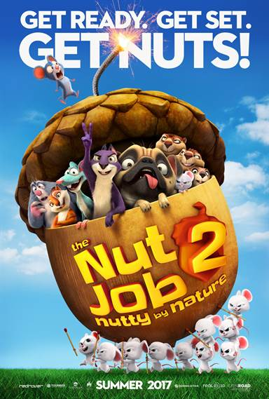 The Nut Job 2: Nutty by Nature Theatrical Review