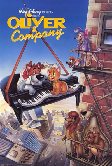 Oliver & Company © Walt Disney Pictures. All Rights Reserved.